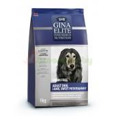 GINA Elite Grain Free Adult Dog Lamb, Sweet Potato&Mint беззерновой корм для собак с Ягненком, Сладким картофелем и Мятой (NEW), 1кг