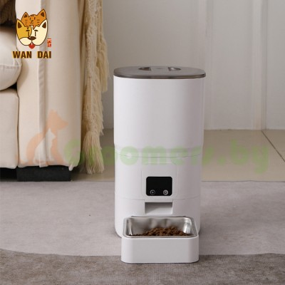 Автоматическая Wi-Fi кормушка для кошек и собак Fattie Paw