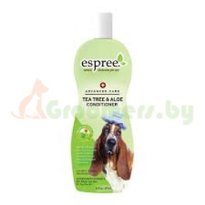 """Кондиционер Espree """"Чайное дерево и алоэ"""" для собак, 355 мл"""