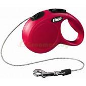 Рулетка-поводок для кошек Flexi Cat XS 3 м трос красный
