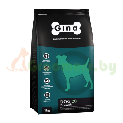 GINA Dog-20 Denmark корм для собак старше 7-ми лет