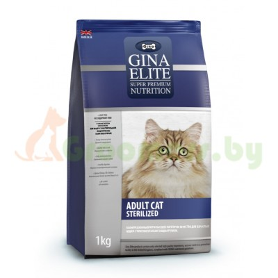 GINA Elite Cat Sterilized UK корм для стерилизованных кошек (NEW)