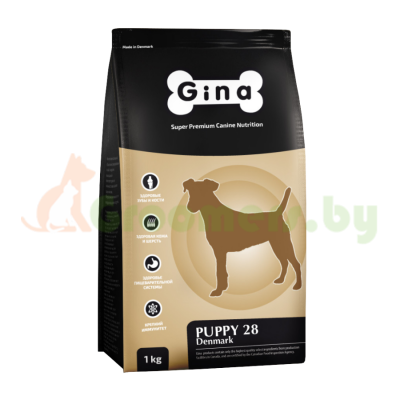 GINA Puppy-28 Denmark корм для щенков