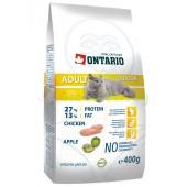 ONTARIO корм для домашних кошек с цыпленком (Adult Indoor)