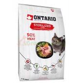ONTARIO корм для стерилизованных кошек с ягненком (Ontario Cat Sterilised Lamb)