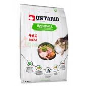 ONTARIO корм для вывода шерсти у кошек с уткой и курицей (Ontario Cat Hairball)