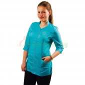 Рубашка на молнии с рукавом 3/4 Tikima Aleria голубая, размер XXL
