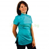 Рубашка с коротким рукавом Tikima Elba голубая, размер XXXL